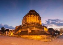 Temple de luang de Chedi Image stock