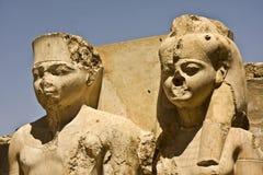 Temple de Luxor Photos libres de droits