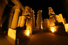 Temple de Luxor Photo stock