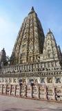 Temple de Mahabodhi Photographie stock libre de droits