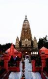 Temple de Mahabodhi Photo libre de droits