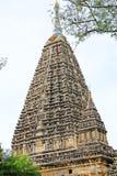 Temple de Mahabodhi, Bagan, Myanmar Images libres de droits