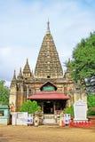Temple de Mahabodhi, Bagan, Myanmar Image libre de droits