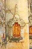 Temple de Mahabodhi, Bagan, Myanmar Images stock