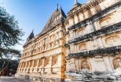 Temple de Mahabodhi dans Bagan, Myanmar Photo stock