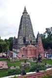 Temple de Mahabodhi dans Bodhgaya Images libres de droits