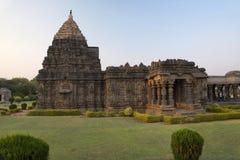 Temple de Mahadeva, Itgi, état de Karnataka, Inde Photo libre de droits