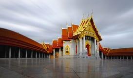 Temple de marbre de Bangkok Image libre de droits