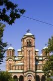 Temple de Marko de saint, Belgrade photographie stock libre de droits