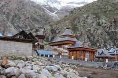 Temple de Mathi, Chitkul, Himachal Pradesh image stock