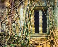 Temple de Mealea de Beng Mealea ou de bondon Le Cambodge cambodia image stock