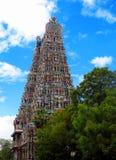 Temple de Meenakshi Amman de gopuram de Madurai Photographie stock libre de droits