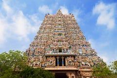 Temple de Menakshi, Inde photographie stock libre de droits