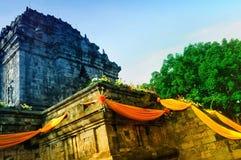 Temple de Mendut, Magelang Images libres de droits