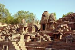 Temple de Modhera Sun Images libres de droits