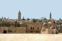 temple de montagne de Jérusalem Images libres de droits
