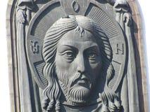 Temple de Moscou de St George le victorieux sur Poklonnaya Hil Images stock