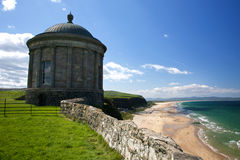 Temple de Mussenden Photographie stock