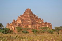 Temple de Myanmar photographie stock libre de droits