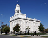 Temple de Nauvoo images stock