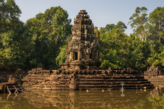 Temple de Neak Pean Photographie stock