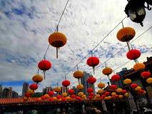 Temple de péché de tai de wong de Hong Kong photographie stock libre de droits