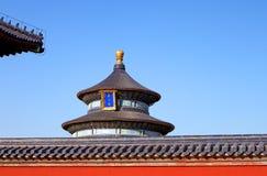 Temple de Pékin de ciel Photographie stock libre de droits