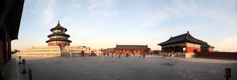 Temple de Pékin de ciel Photo libre de droits