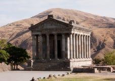 Temple de païen de Garni images libres de droits