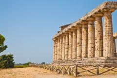 Temple de Paestum - Italie Image stock