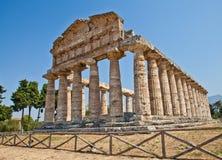 Temple de Paestum - Italie Photographie stock libre de droits