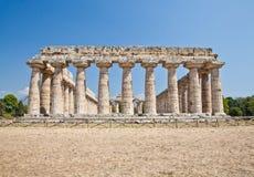 Temple de Paestum - Italie Photo stock