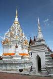 Temple de pagoda de Chaiya dans le sud de la Thaïlande Photographie stock libre de droits