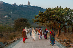 Temple de Palitana Images libres de droits
