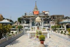 Temple de Parasnath dans Kolkata, Inde Photo stock