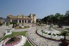 Temple de Parasnath dans Kolkata, Inde Photographie stock libre de droits