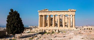 Temple de parthenon, Acropole à Athènes, Grèce Photos stock