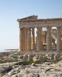 Temple de parthenon, Acropole Image libre de droits