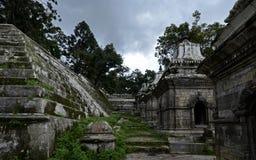 Temple de Pashupatinath, Katmandou, Népal Images libres de droits