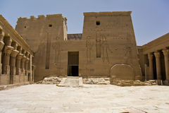 Temple de Philae Photos stock