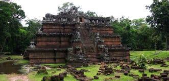 Temple de Phimeanakas, Angkor, Siem Reap. Le Cambodge Photos libres de droits