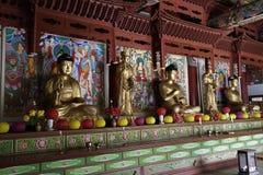 Temple de Pohyonsa, DPRK (Corée du Nord) Image stock