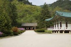 Temple de Pohyonsa, DPRK (Corée du Nord) Images libres de droits