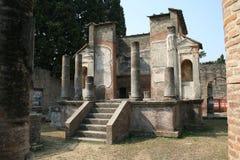 Temple de Pompeii Photo libre de droits