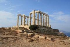 Temple de Poseidon Images stock