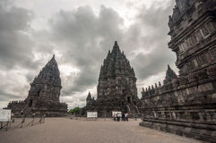 Temple de Prambanan Images stock
