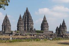 Temple de Prambanan Photo libre de droits
