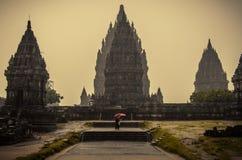 Temple de Prambanan Photos libres de droits
