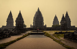 Temple de Prambanan Photographie stock libre de droits