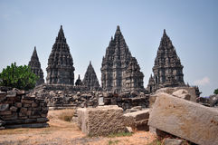 Temple de Prambanan Photos stock